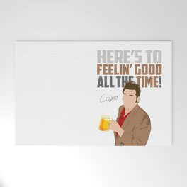 Feelin' Good All the Time! Welcome Mat