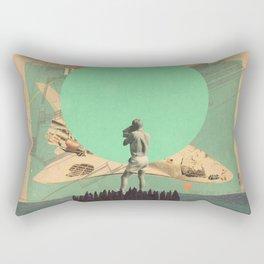 Hopes in Range Rectangular Pillow