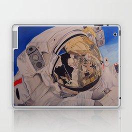 Astronaut in space, man. Laptop & iPad Skin