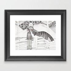 Andres Framed Art Print