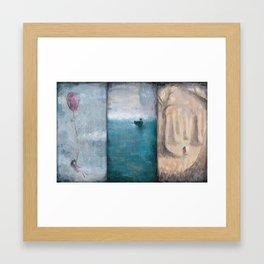 Vacancy Trio  Framed Art Print