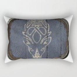 Falkreath hold guards shield crest from skyrim oblivion Skyrim guards shields arrow to the knee Rectangular Pillow