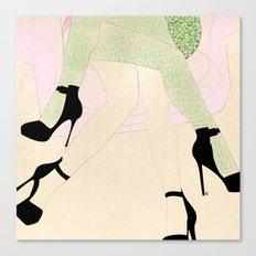 women sketch Canvas Print