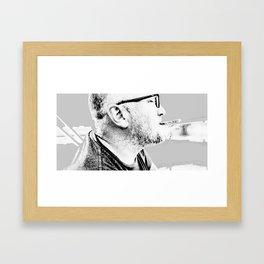 po and cig Framed Art Print