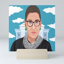 Ruth Bader Ginsburg Notorious RBG Mini Art Print