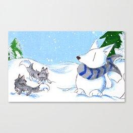 Snowpack Canvas Print