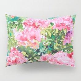Pink Azalea Pillow Sham