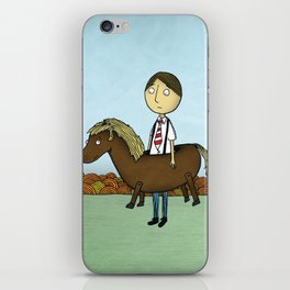 Horseback iPhone Skin