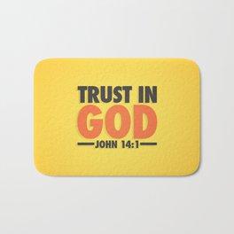 Trust in God Bath Mat