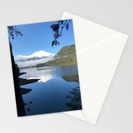Mt. Baker over Baker Lake Stationery Cards