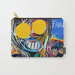 A Happy Loving Family Street Art Graffiti Carry-All Pouch