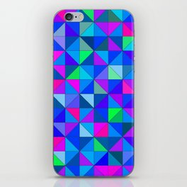 Blue 2 iPhone Skin