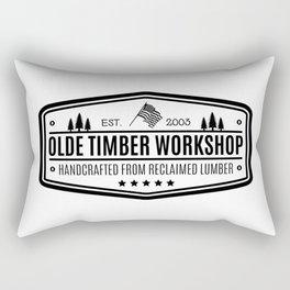 Olde Timber Workshop Rectangular Pillow