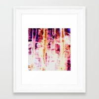 batik Framed Art Prints featuring batik by clemm