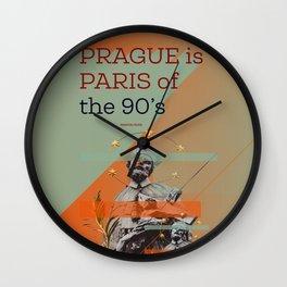 Prague is #everyweek 9.2017 Wall Clock