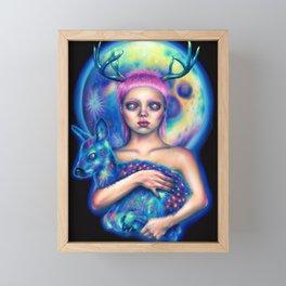 Inner space Framed Mini Art Print