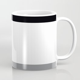 Trio Shades, Black White & Gray Coffee Mug