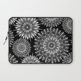 Mandala Negative Laptop Sleeve