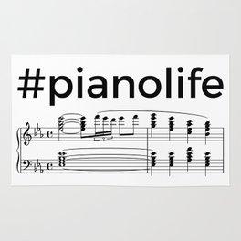 #pianolife Rug