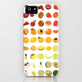Fruits Galore iPhone Case