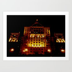 Night Crest 1 Art Print