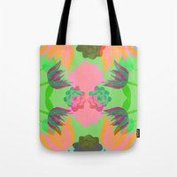 oasis Tote Bags featuring Oasis by Ingrid Castile