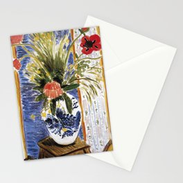 Henri Matisse - Poppies - Exhibition Poster Stationery Cards