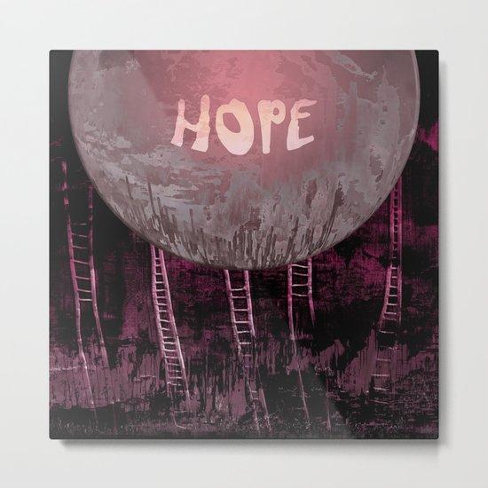 Hope, Climbing / Wonderful Planet 13-11-16 Metal Print
