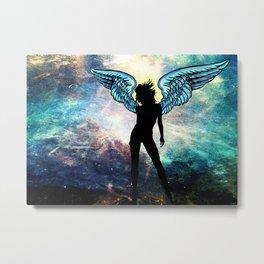 The Universe is my Angel Metal Print