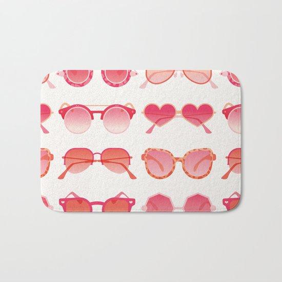 Sunglasses Collection – Pink Ombré Palette Bath Mat