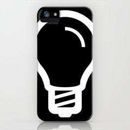 The Thinker's Right - Basic Logo iPhone Case