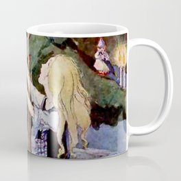 """""""The Little Match Girl"""" Vintage Art by Anne Anderson Coffee Mug"""