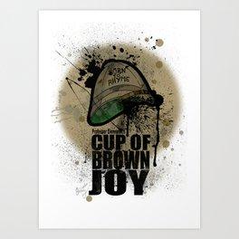 cup of brown joy Art Print