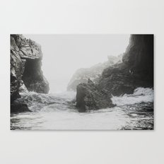 Into the waves X Canvas Print
