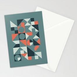 Mid Century Geometric 08 Stationery Cards