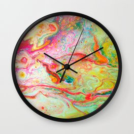 Blazing Marble Wall Clock