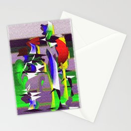 "Madrone Candea ""Robots From The Sea Variation"" Stationery Cards"