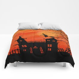 Haunted House Witch Play Comforters