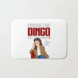 Maybe the Dingo Ate Your Baby! Bath Mat