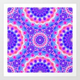 Mandala Psychedelic Visions G220 Art Print