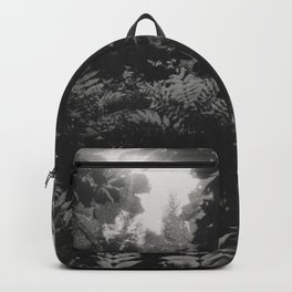 Under the leaves... Backpack