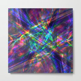 Iridescent Dreams Metal Print