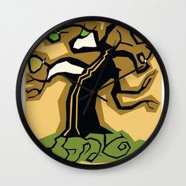 Fantasy Tree Wall Clock
