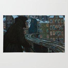 Working-Class City by Hans Baluschek, 1920 Rug