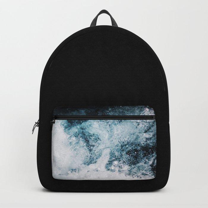 Blue Swells Backpack