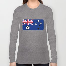 Australian Flag Football Long Sleeve T-shirt