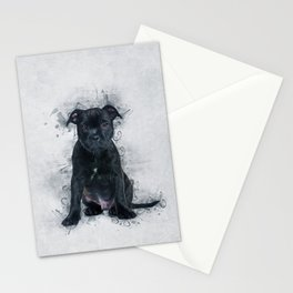Staffordshire Bull Terrier Stationery Cards