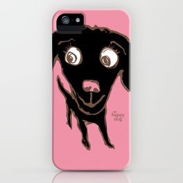 Thale - black/ink iPhone Case