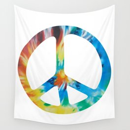 Delectable Hippies Logo II Wall Tapestry