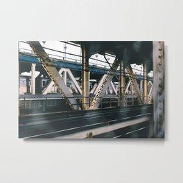 All Aboard the MTA Metal Print